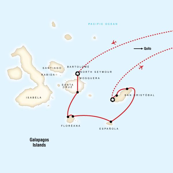 7 Day Galápagos Islands aboard the Queen